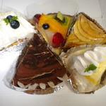 レティシアの月 - 買い求めたケーキ達