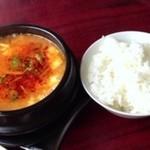 湖々屋 そやんほ - チゲ豆腐ランチ