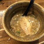 ベジポタつけ麺えん寺 - スープ割り(セルフ)