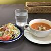 レストラン美咲亭 - 料理写真:セットのサラダ&スープ