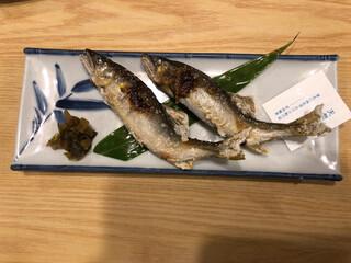 吉田屋 美濃錦 - 鮎の塩焼き