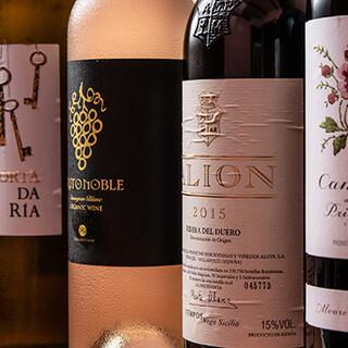 サングリアやスペシャルワインなど、ドリンクメニューも充実
