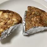 132319761 - エビ&そら豆のキッシュ(550円)、ジャガイモとトマトベーコンのキッシュ(550円)