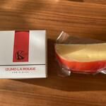アンジョリーノ - 島根・木次乳業の「イズモ・ラ・ルージュ」とオランダ製「エダム」を比べる♡