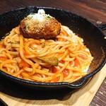 自家製パスタ洋食堂 マルブン - 料理写真:バーグナポリタ~ン‼️