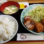 とん喜 - ひれかつ定食 850円
