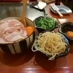 川崎こてがえし - 豚モダン焼き、ネギトッピング
