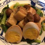 中華風家庭料理 ふーみん - ふーみん(豚肉の梅干し煮定食)
