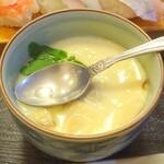 宝寿司 - にぎり寿司10貫ランチ(茶碗蒸し)