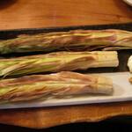 いろり - 料理写真:八甲田産焼きタケノコ