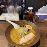 麺屋 雪風 - 濃厚味噌ら〜めん ¥850