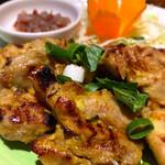 熱帯食堂 - アヤムパンガン(炙り鶏の生ハーブソース)