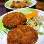 熱帯食堂 - トートマンクン(海老のすり身揚げ)