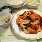 13234076 - あんかけ白身魚と野菜の定食
