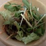 アツアツ - サラダ