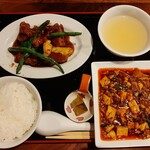 Mashinoken - 奥行きある旨味がたまらない本格麻婆豆腐に週替わりのメイン付き、ダブルメインが嬉しい平日限定セレクトランチ900円