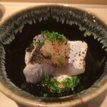 Shigeru - カマスの軽い炙り
