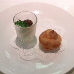 エルルカン・ビス - 前  菜 1 : 野菜のピクルス&チーズのシュー