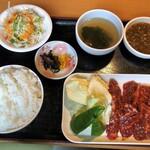 焼肉ゆらの - 料理写真:ハラミ焼肉ランチ