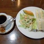 コーヒーショップビージン - 料理写真:アメリカンと別注モーニング