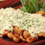 小鍋とかしわ 華まる - 自家製タルタルソースのチキン南蛮