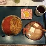 ぺりーのいくら丼 - まとめて撮りたいよね~(・∀・)シランケド!!!!!