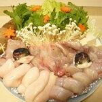 錦寿し - 料理写真:ふぐ鍋(白子入)