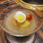 大徳壽 - 〆の冷麺 麺がモチモチしてて良い感じ。