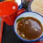 食事処 せきぐち - 蕎麦湯