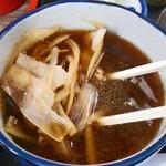 食事処 せきぐち - 「豚南蛮せいろ」の付け汁