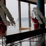 鉄板焼き 七里ガ浜 - 江ノ島の眺め