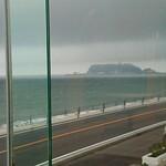 鉄板焼き 七里ガ浜 - デザートスペースからの眺め