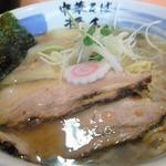 醤和 せじけん - 塩ワンタン麺 アップ