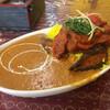 D・カジャナ - 料理写真:ナスとポークのカレー