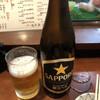 Uoshin - ドリンク写真:お得セットは+100円で瓶ビールにできます。