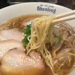 のりや食堂 - 中華そばの麺