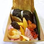 金谷駅 売店 - 料理写真:大井川ふるさと弁当1150円税込w 結構おいしいですよw