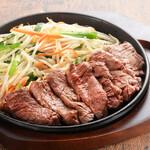 鉄板焼 旭人 - 料理写真:牛ハラミのカットステーキ