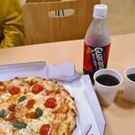 ピザドゥ - ピザドゥのマルゲリータ(M)& キリンガラナ