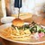 LAMB & CRAFT BEER ラムギ屋 - 料理写真:ラムチーズバーガープレート