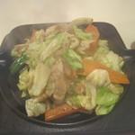 キッチンすもり - 豚肉野菜鉄板焼き!