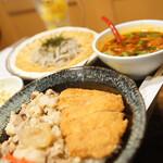 大衆天ぷらtoかすそば風土.はなれ - 定食