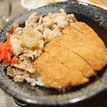 大衆天ぷらtoかすそば風土.はなれ - かつ牛丼