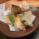 金沢の味 福梅 - 加賀野菜の天ぷら盛合せ