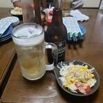 亀善 - ホッピー&お通し2020.06.29