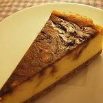 1324804 - モカマーブルチーズケーキ