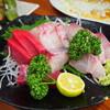 田島屋 - 料理写真:お造り(本まぐろ赤身、シマアジ)