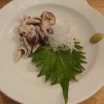 セレクトギャラリー&バー バク - 大阪産トリ貝の刺身650円(税抜)
