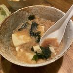 きんか - これが最高なたぬき豆腐。