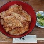 炭焼豚丼 空海 - 特上バラ(漬物付)770円 2020/06